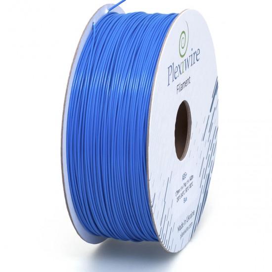 ABS + plastic Plexiwire for 3D printer 1.75 mm blue (400 m / 1 kg)