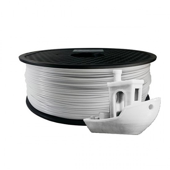 ABS plastic KLEMA 1,75 mm white