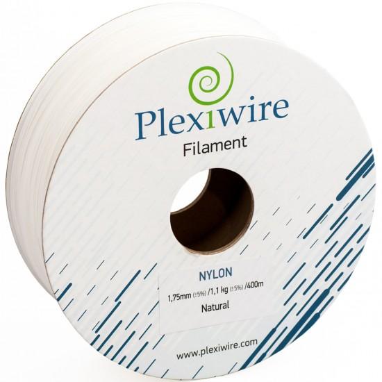 NYLON plastic Plexiwire for 3D printer 1.75 mm natural (300 m / 0.825 kg)