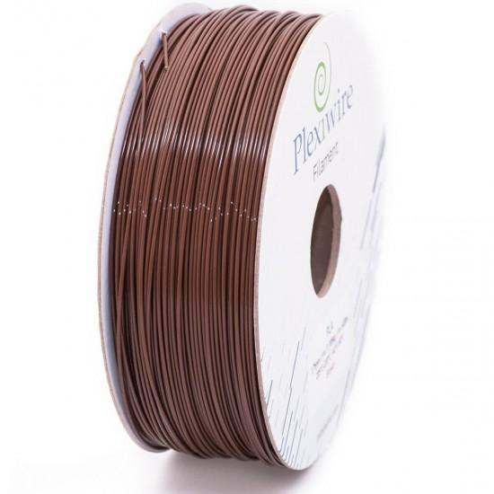 PLA plastic Plexiwire for 3D printer 1.75 mm brown (300 m / 0.9 kg)
