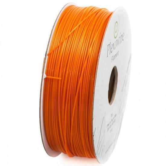 PLA plastic Plexiwire for 3D printer 1.75 mm orange (300 m / 0.9 kg)