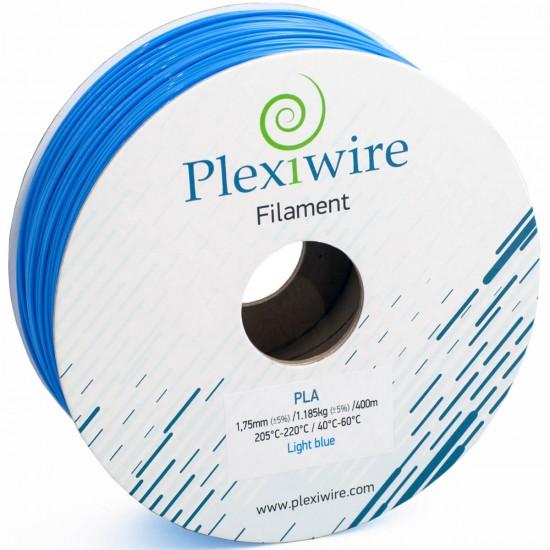 PLA plastic Plexiwire for 3D printer 1.75 mm blue (300 m / 0.9 kg)