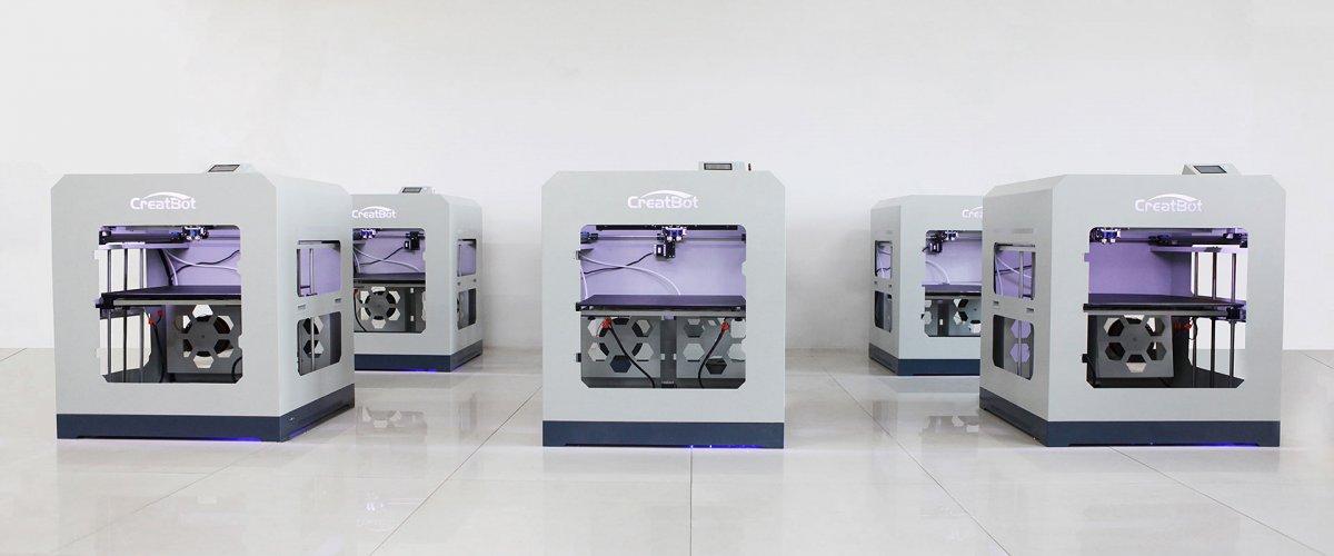 CreatBot D600 Pro production