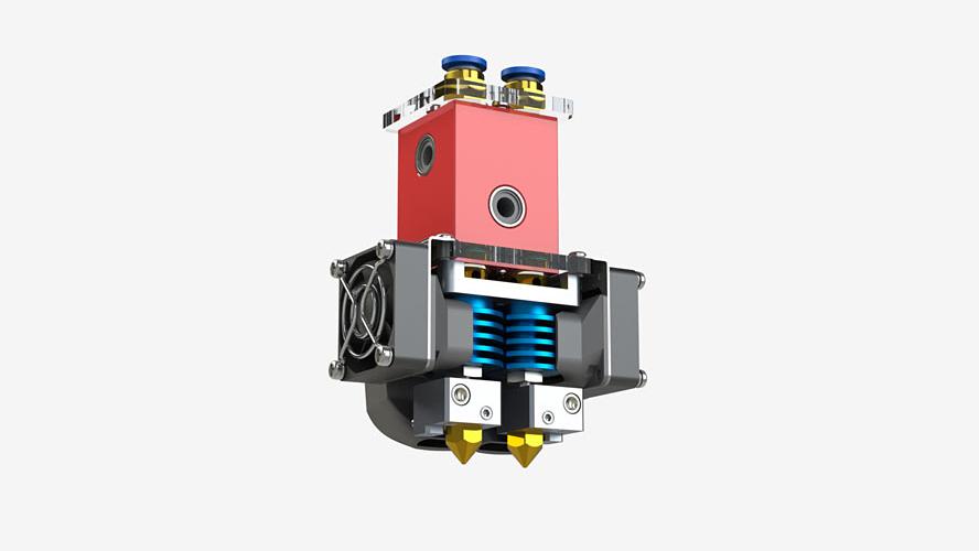 Buy 3D printer CreatBot DX Krakow, Lodz, Wroclaw, Poznan, Warsaw, Lublin