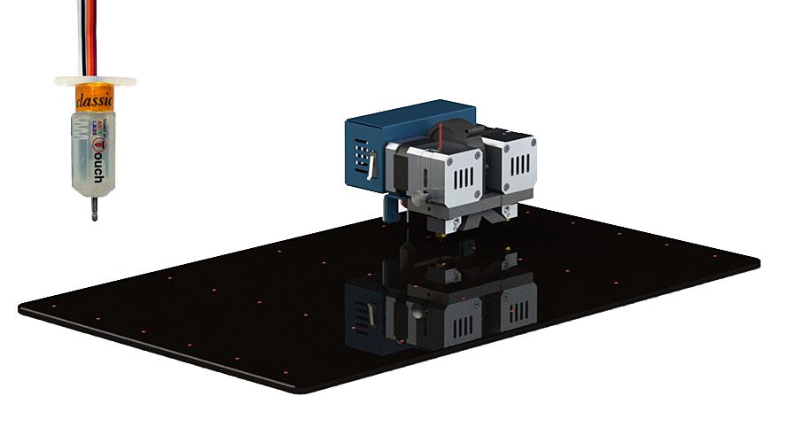 3D printer CreatBot F430 auto-calibration