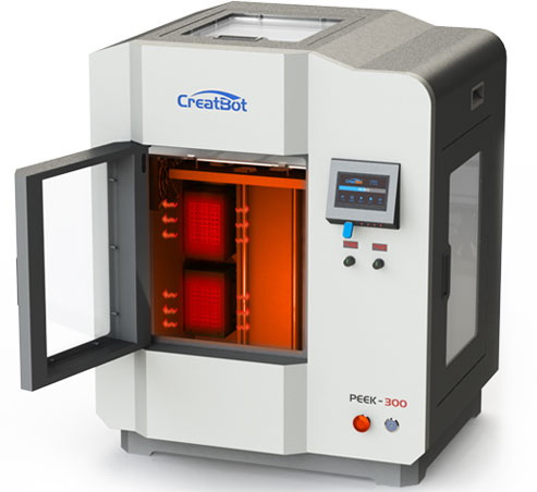 3D Printer CreatBot PEEK 300 chamber of 120 °C